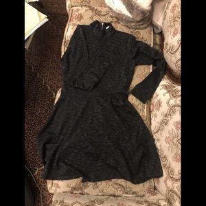 ❤️ NWT Abercrombie & Fitch Mock Neck Skater Dress